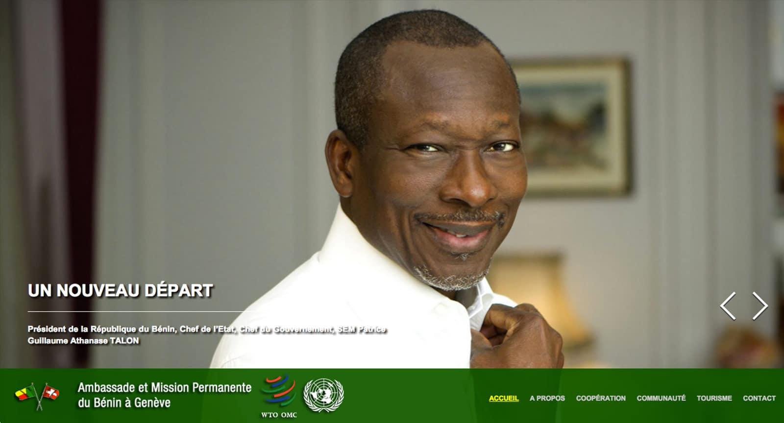 Ambassade et Mission du Bénin à Genève
