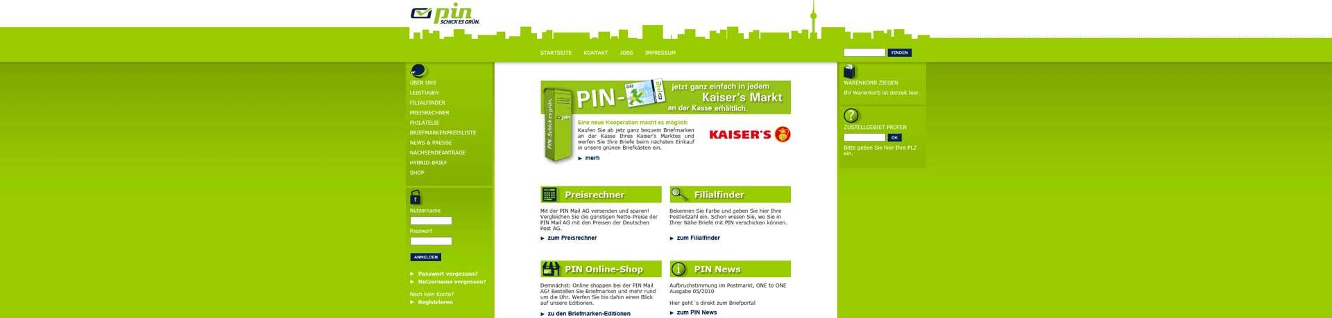 PIN Briefportal